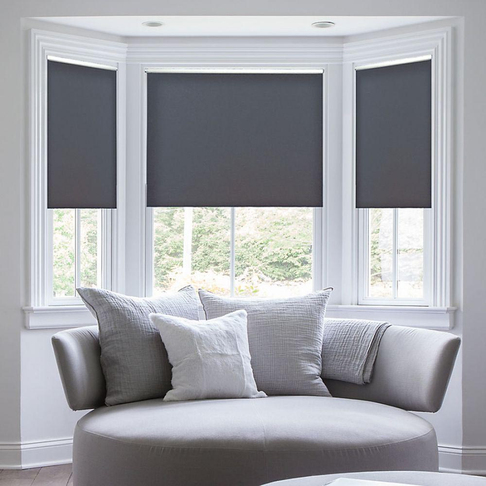 Custom cordless window blinds window treatments design ideas for Window blinds with designs