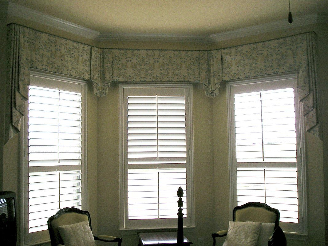 Custom window valances select color according to your for Unique window designs