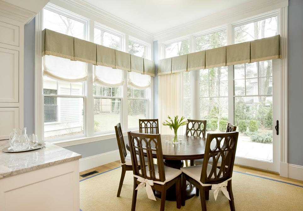 Bedroom Linen Blinds