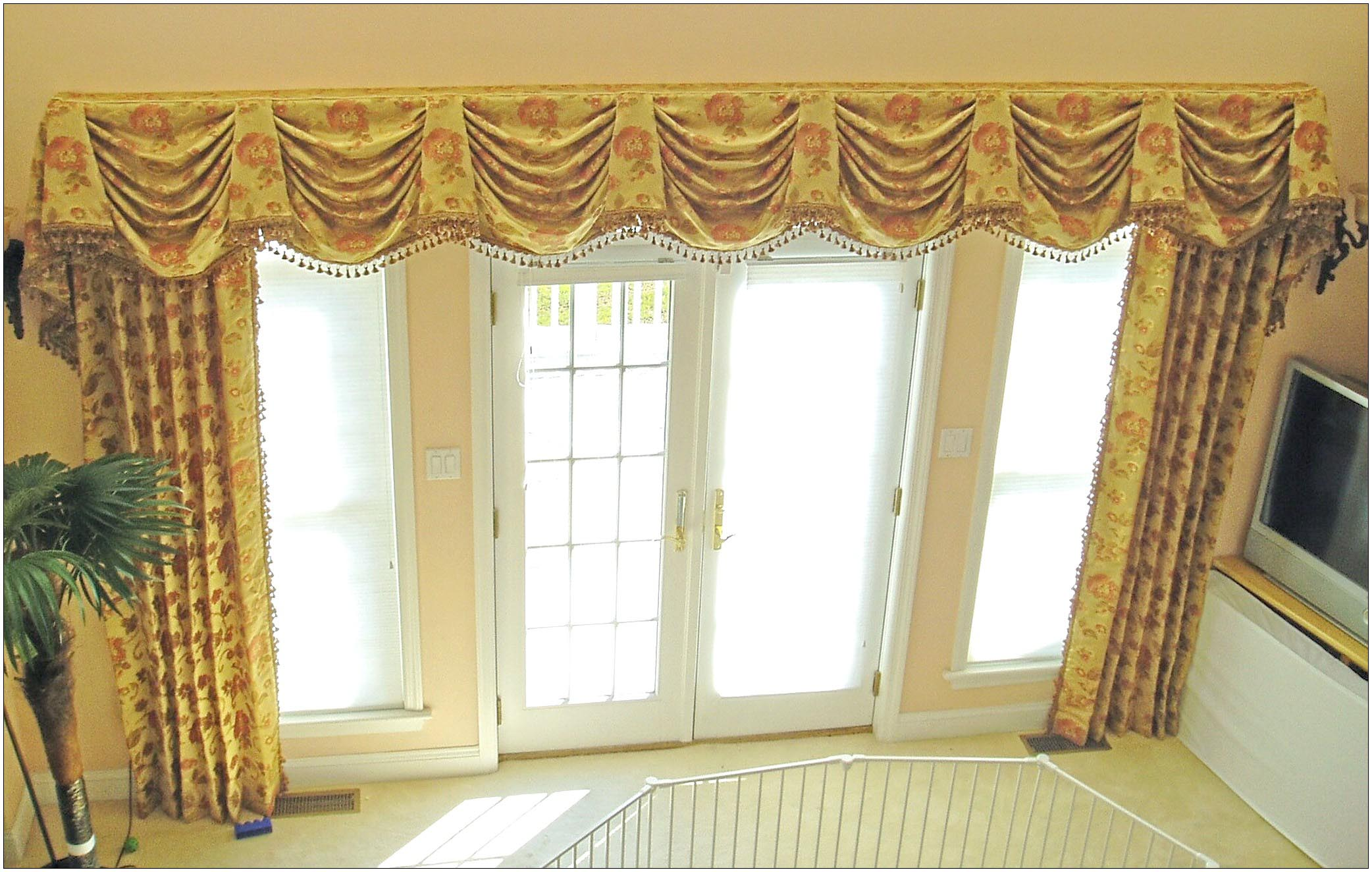 Custom window valance designs window treatments design ideas for Unique window designs