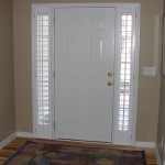 Door Side Window Blinds