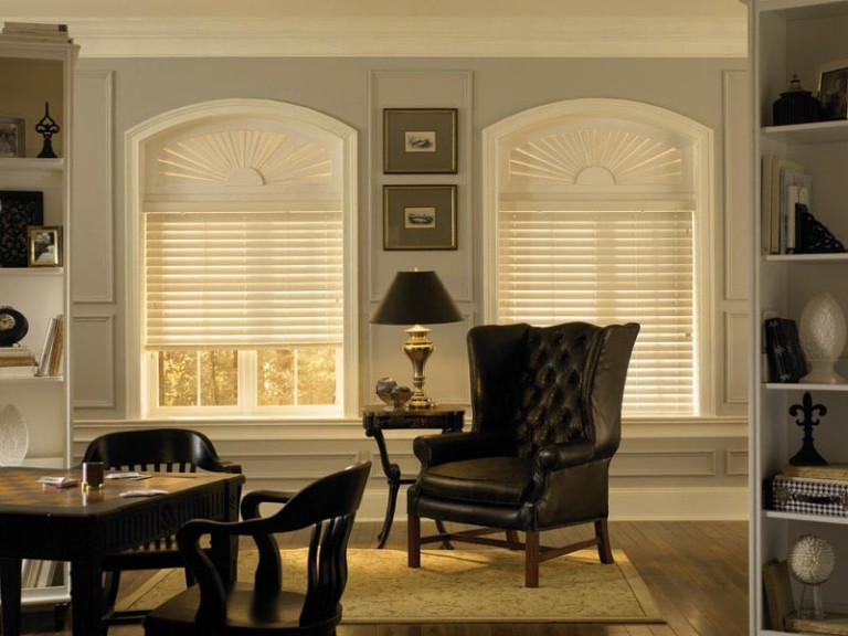 Faux Wood Blinds for Windows
