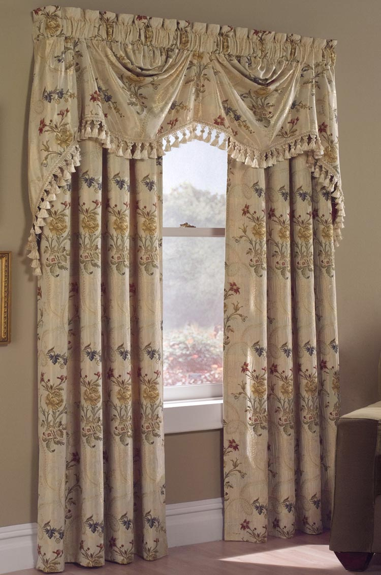 French Country Curtain Valance Window Treatments Design