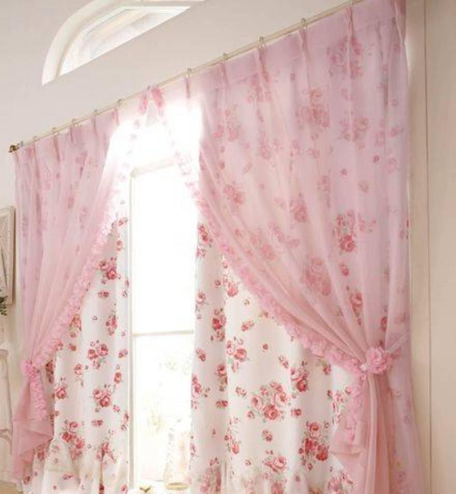French Country Lace Valances