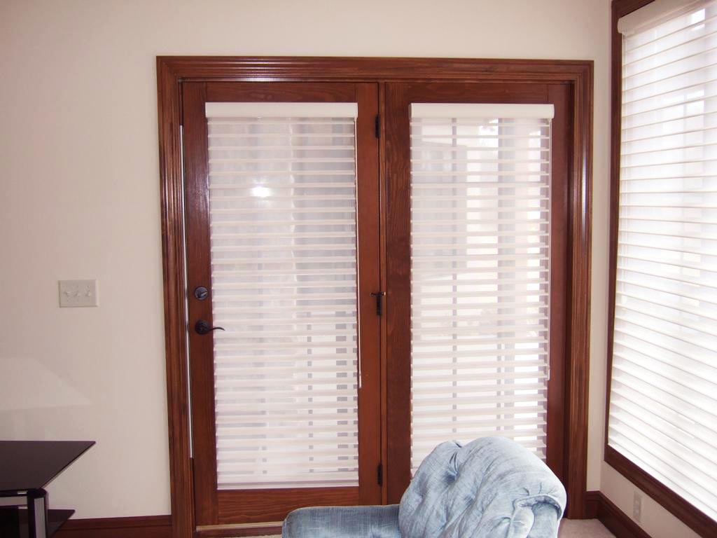 French door window blinds window treatments design ideas for French door style windows