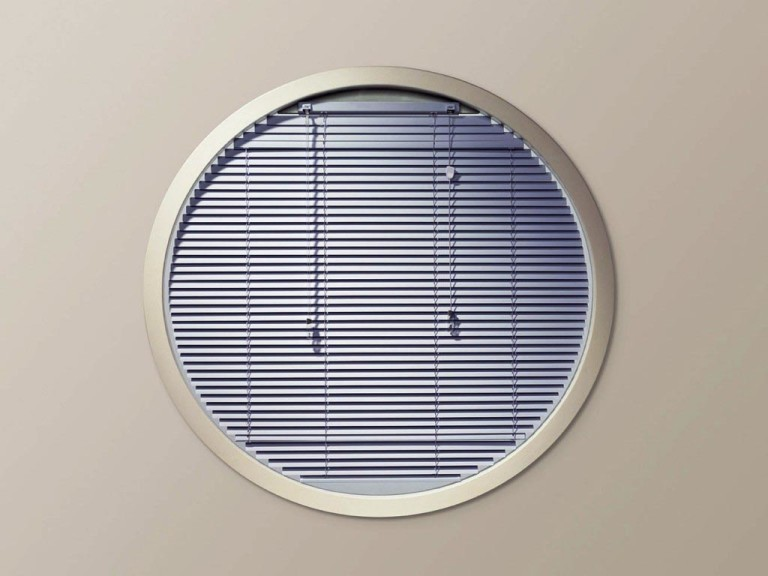 Half Arch Window Blinds