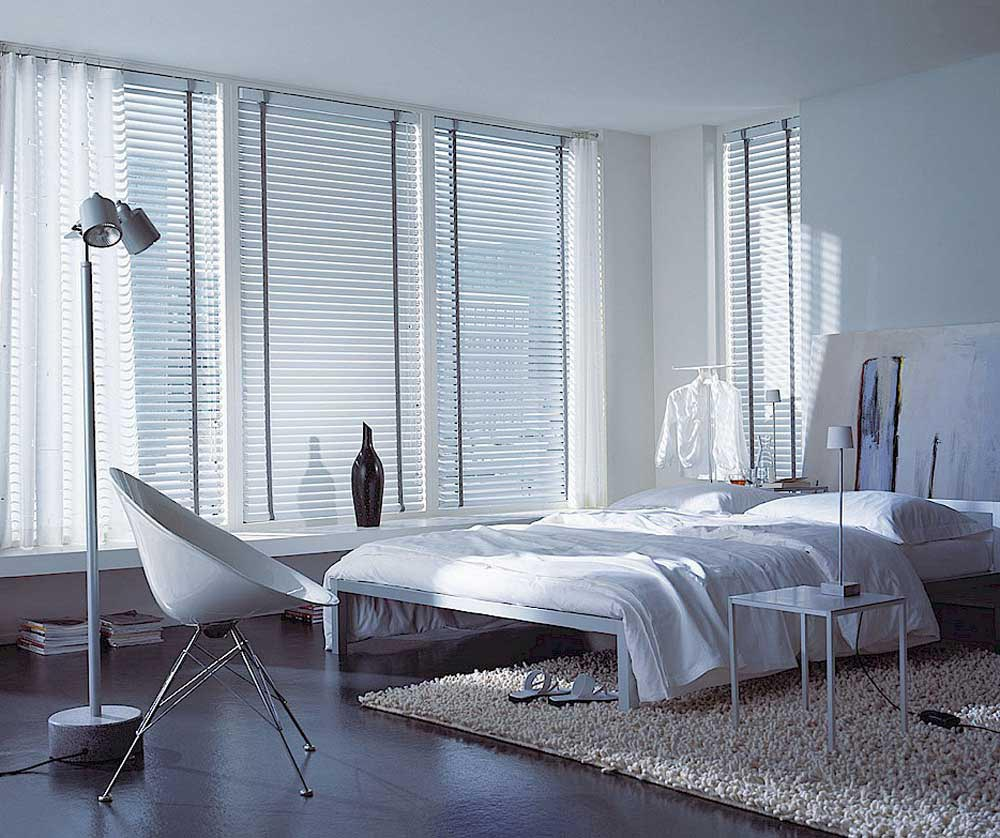 Horizontal Blinds For Large Windows Window Treatments