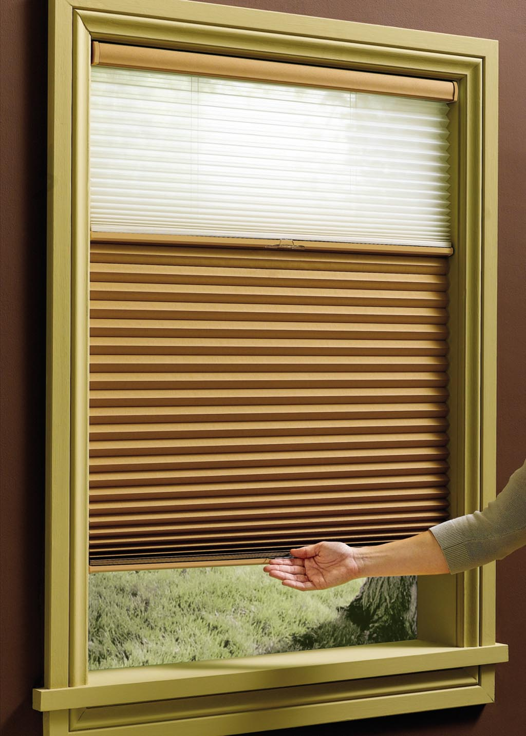 How Do Cordless Window Blinds Work Window Treatments