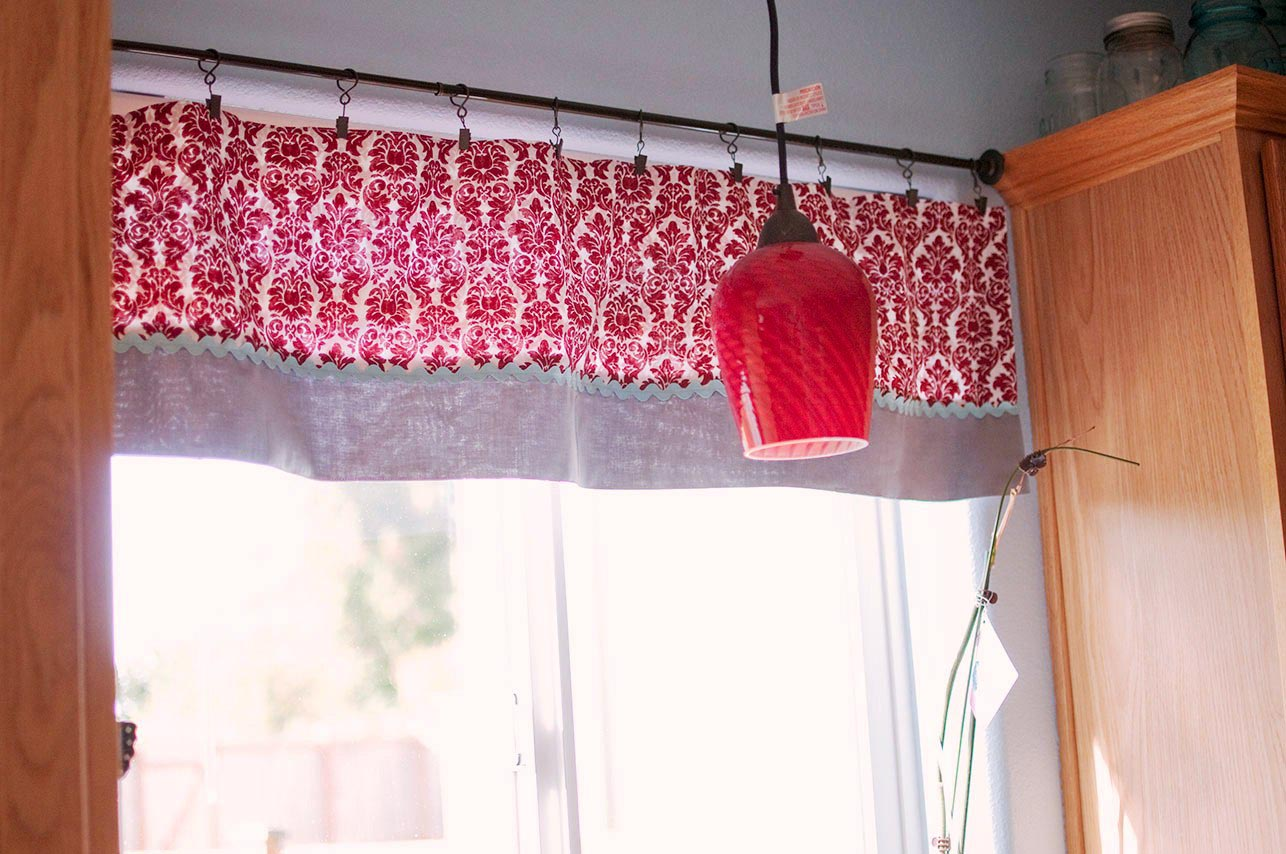 Kitchen Curtains Swag Valance