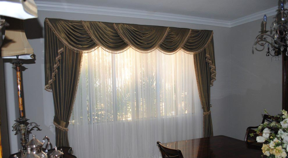 Living Room Curtains And Valances