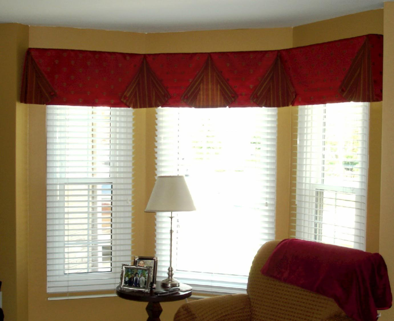 Living room valance ideas window treatments design ideas for Living room picture window ideas