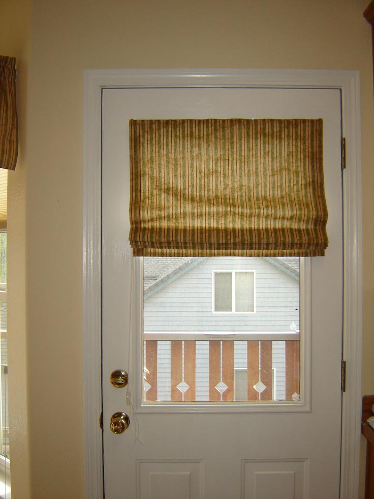 Door window blinds functionality window treatments for Door window shades blinds