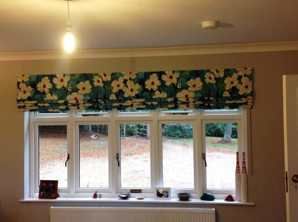 Making Roman Blinds for Large Windows