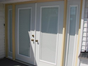 Mini Blinds for Doors with Windows