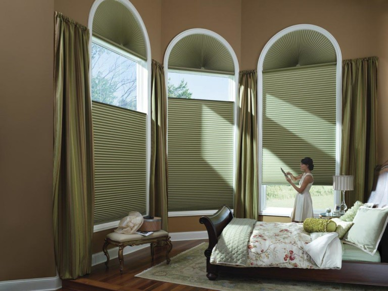 Movable Arch Window Blinds