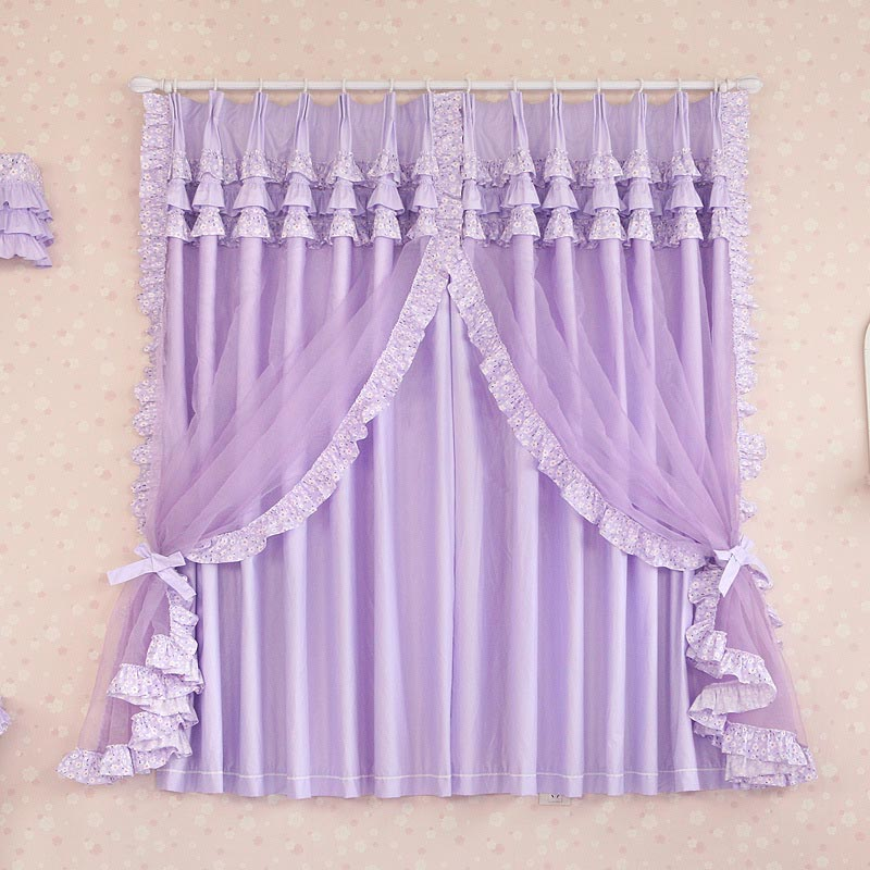 Purple Valance for Bedroom