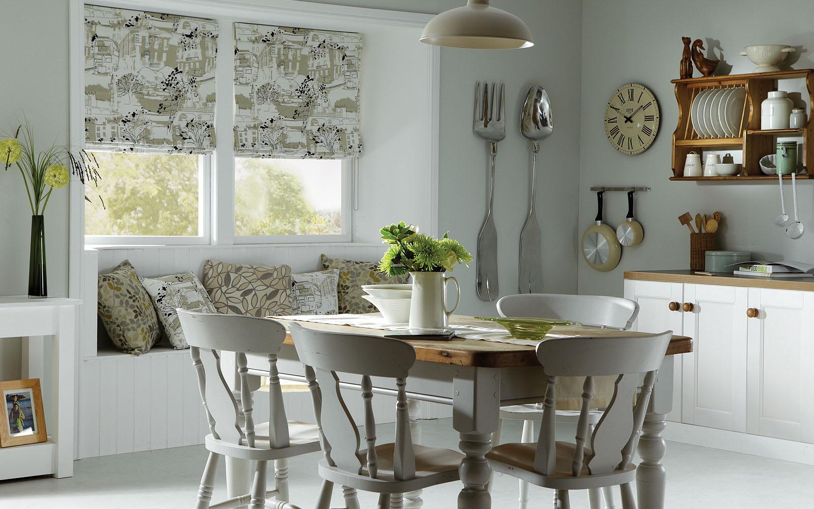 Kitchen Blinds Unlined Roman Blind Image Kitchen Blinds From