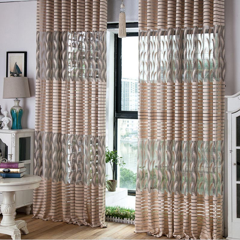 Sheer Scarf Valance Curtains