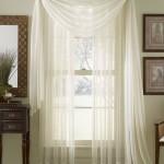 Sheer Scarf Valance Window Treatments