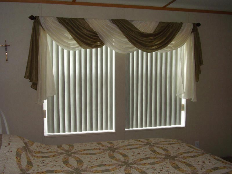 Sheer Swag Curtains Valances Window Treatments Design Ideas