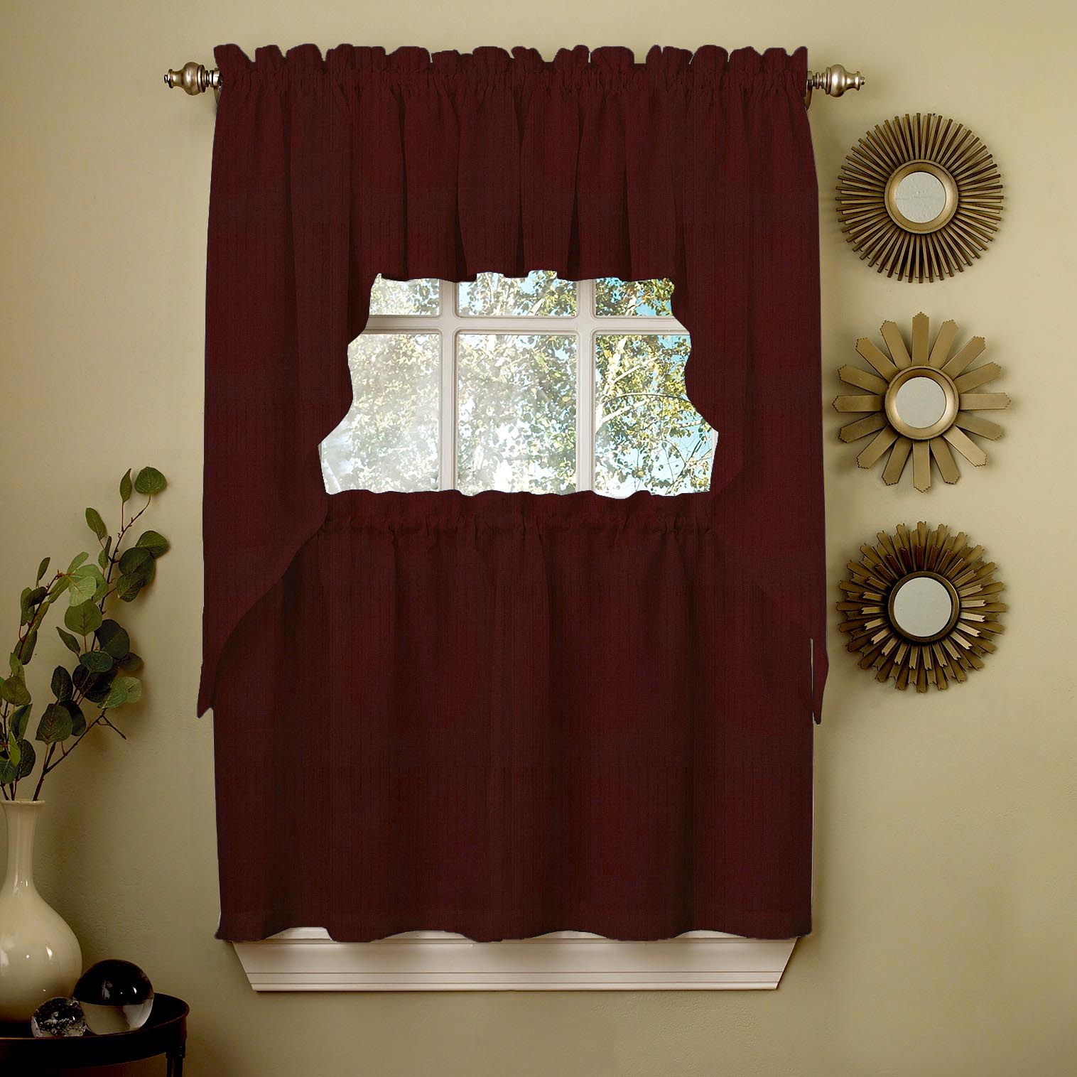 Swag Valance Kitchen Curtains
