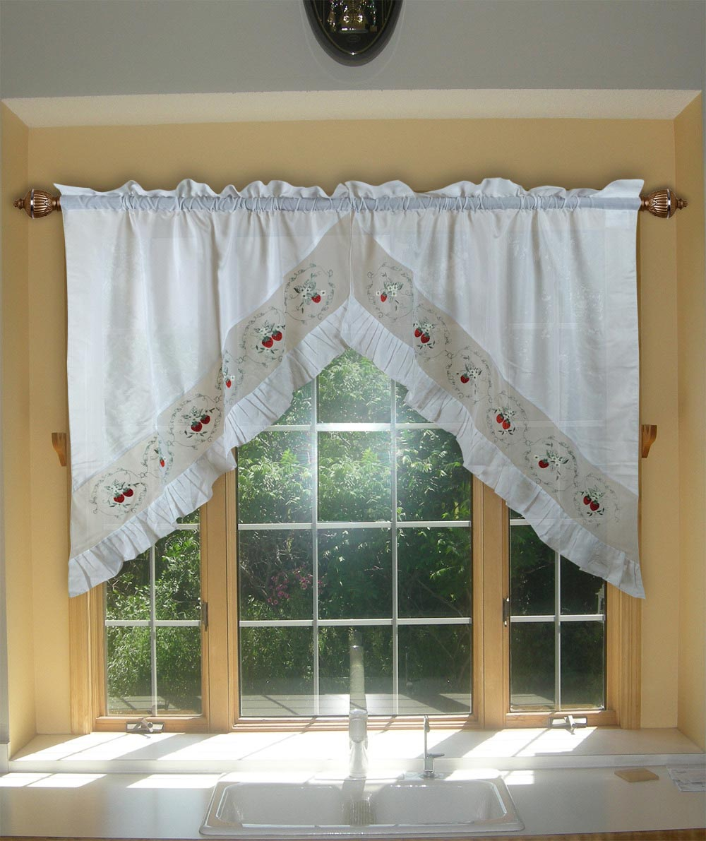 Swag Valances for Bedroom
