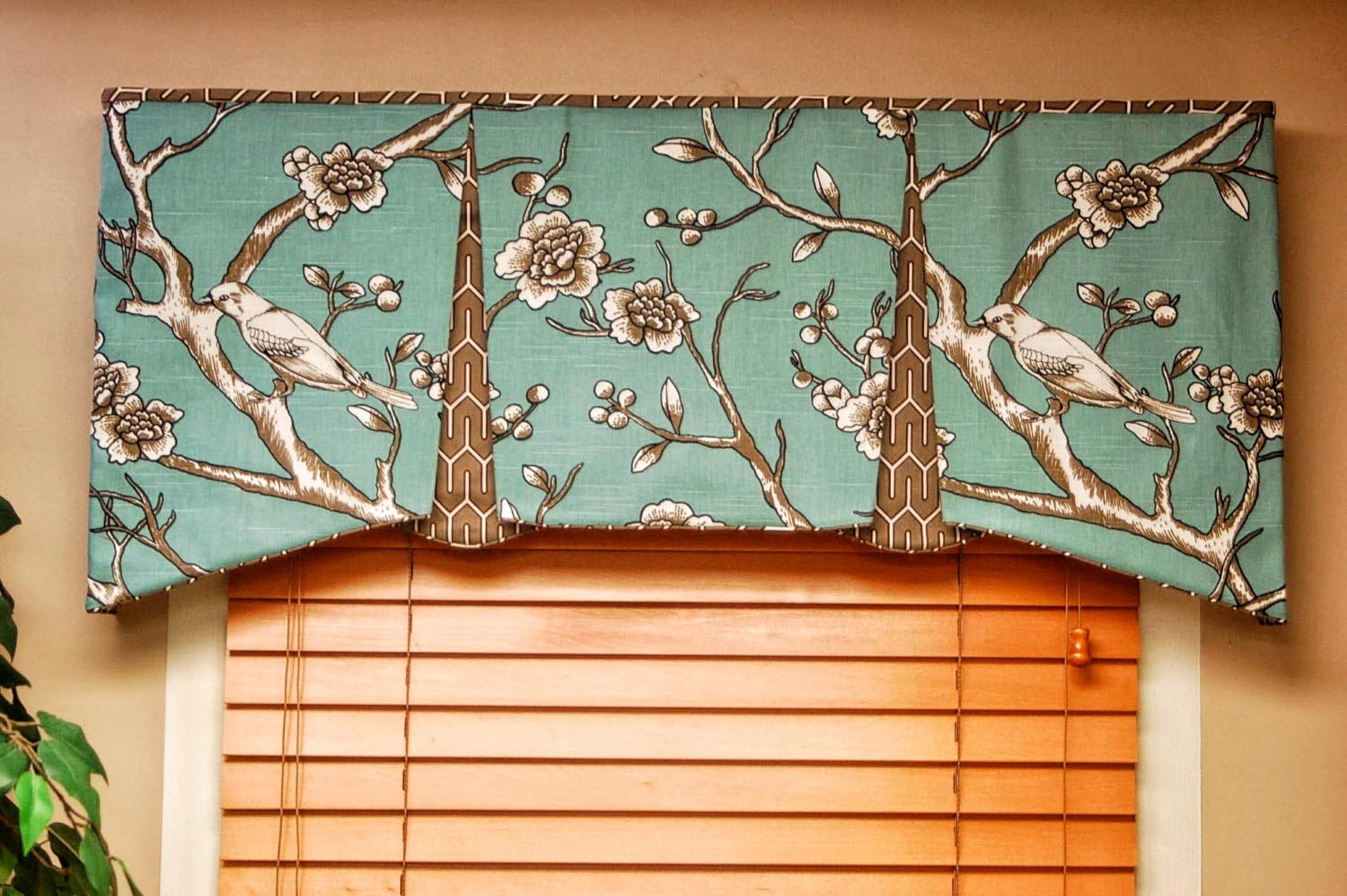Tailored Valances For Living Room Part 5