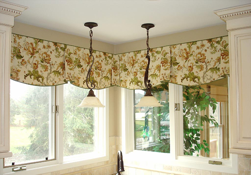 Valance ideas for living room window treatments design ideas for Window valance