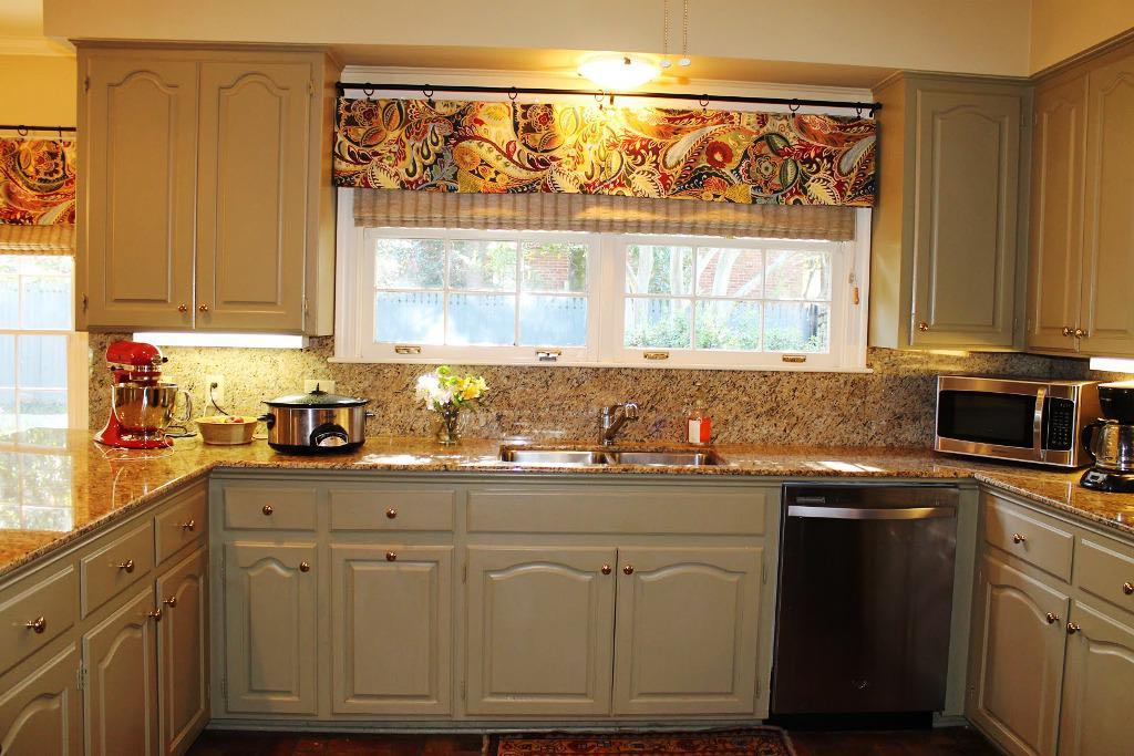 Valances for Kitchen Window