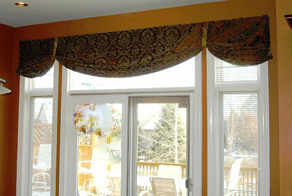 Valances for living room ideas window treatments design for Living room valances