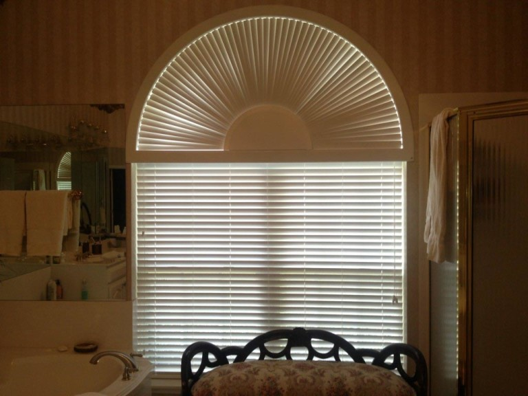 Vertical Blinds for Arched Windows