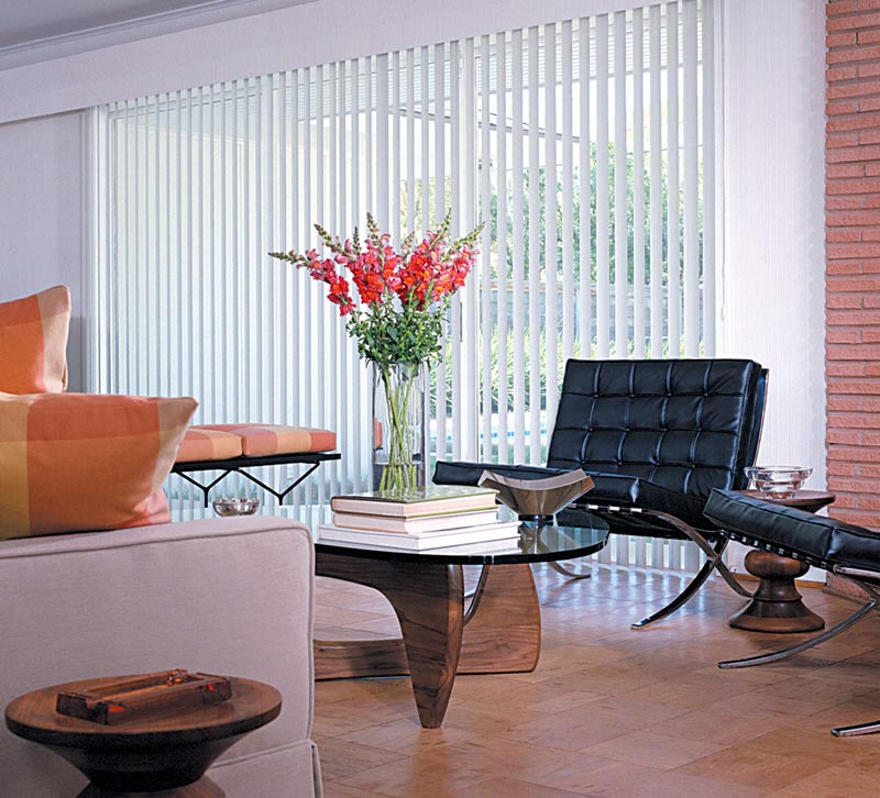 Vertical Blinds for Large Windows