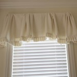 White Valances for Bedroom Windows