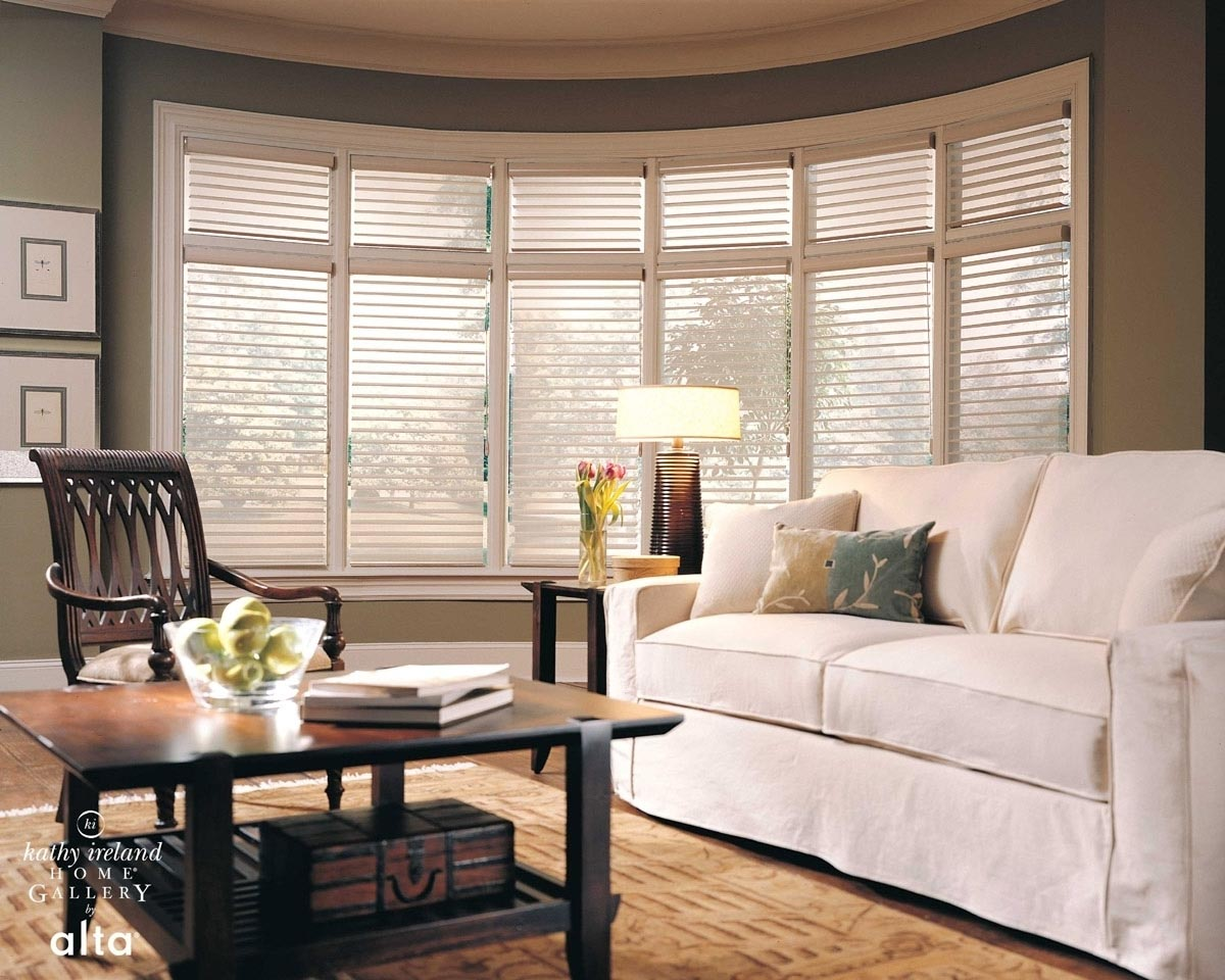 Window blinds for large windows window treatments design for Best shades for windows