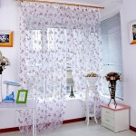 Window Sheer Scarf Valance
