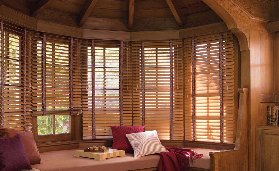 Window Treatments Wood Blinds