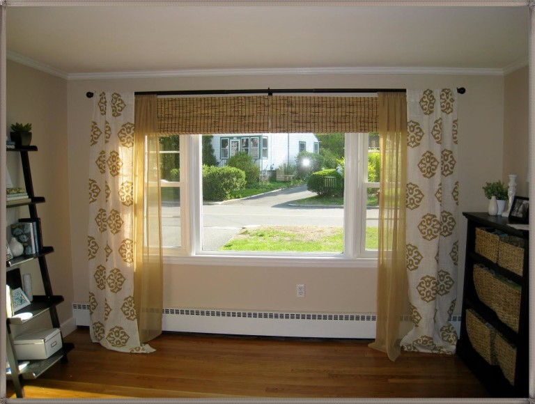 Window Valances for Living Room