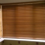 Wood Mini Blinds for Windows