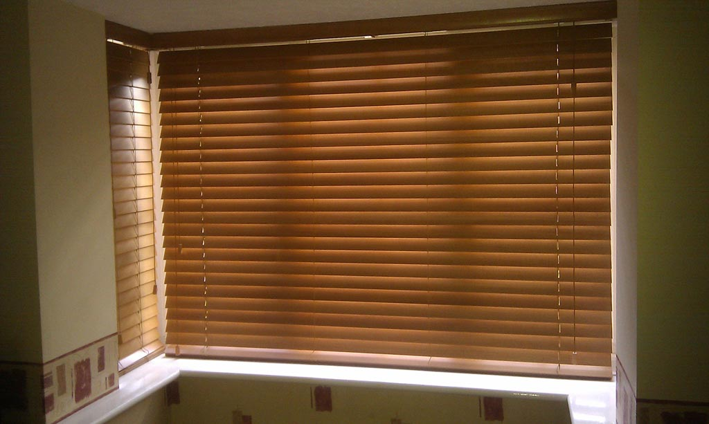 Wood Mini Blinds For Windows Window Treatments Design Ideas