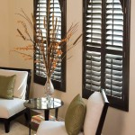 Wood Shutter Blinds for Windows