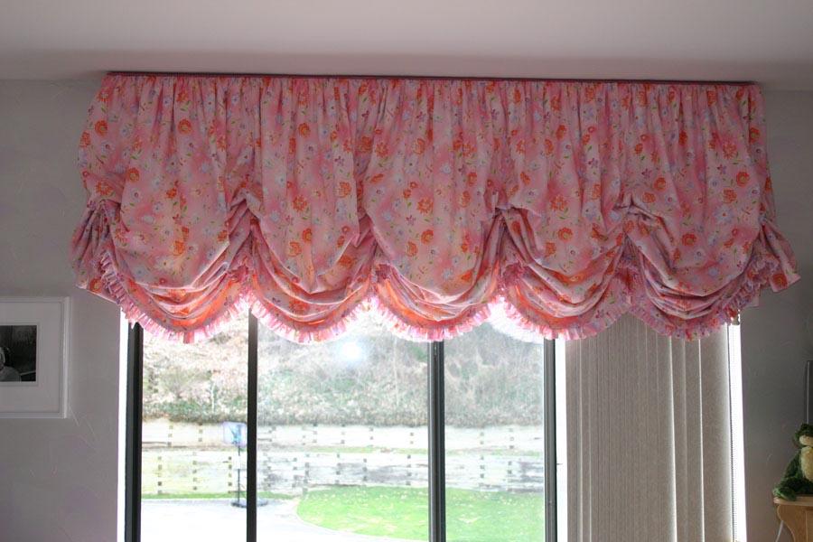 Balloon Curtains And Shades Window Treatments Design Ideas