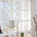Balloon Roman Shade Curtains