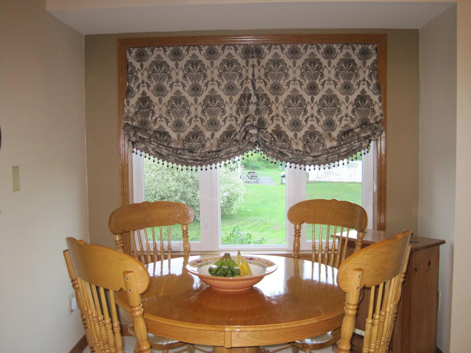 Balloon shade curtains diy window treatments design ideas for Balloon curtains for living room