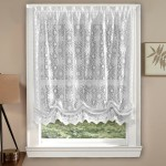 Balloon Shade Curtains Lace