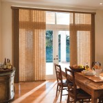 Bamboo Patio Door Shades