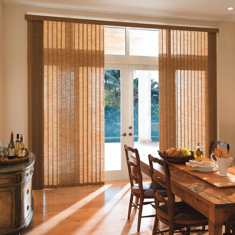 Patio Door Shades Advantages For You Window Treatments