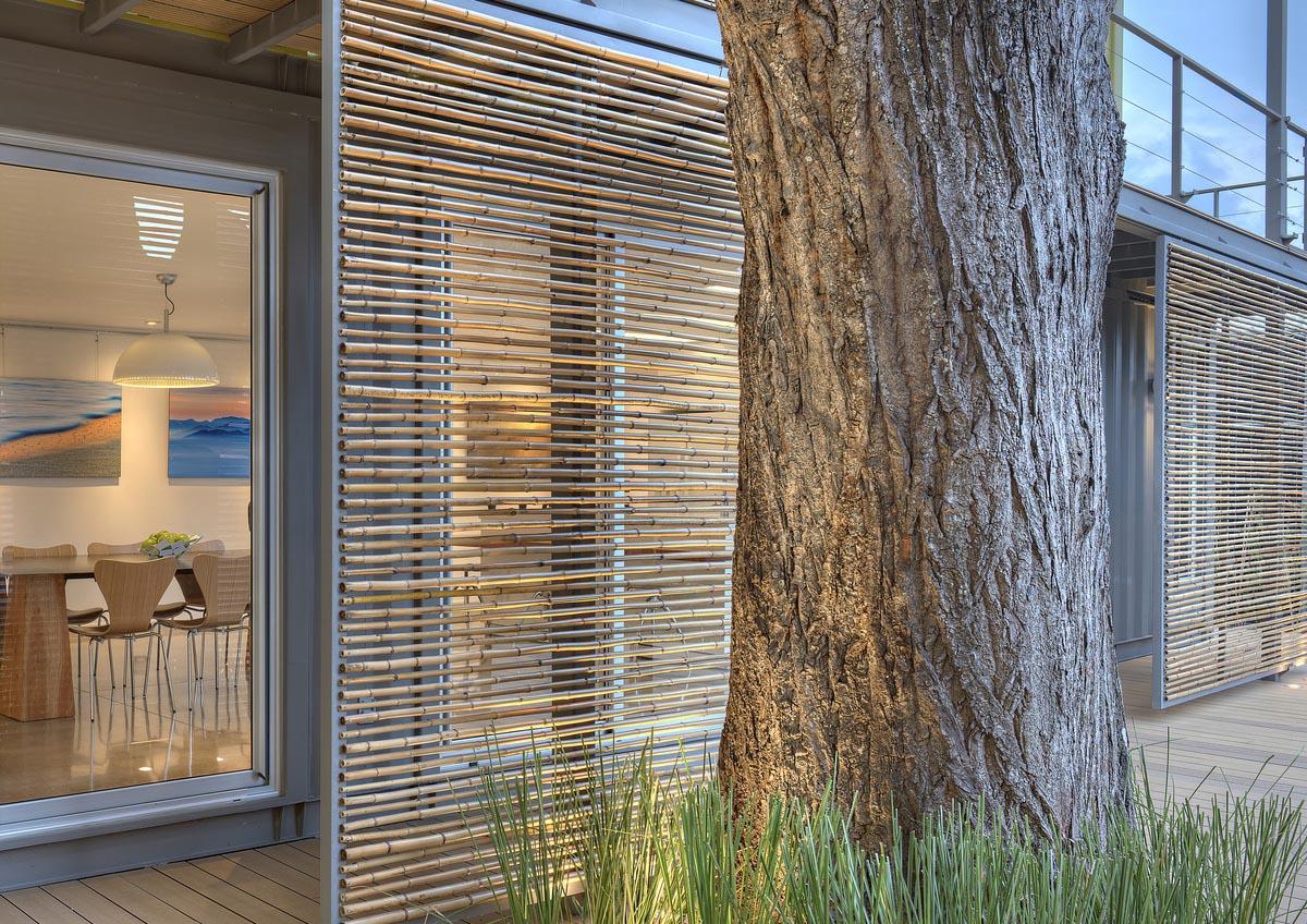 Exterior sun shades for windows - Exterior Porch Shades Outdoor Patio Blinds Chalet