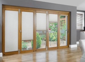 Cellular Shades for French Doors
