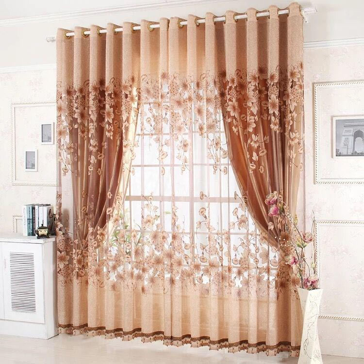 Custom balloon shade curtains window treatments design ideas for Balloon curtains for living room