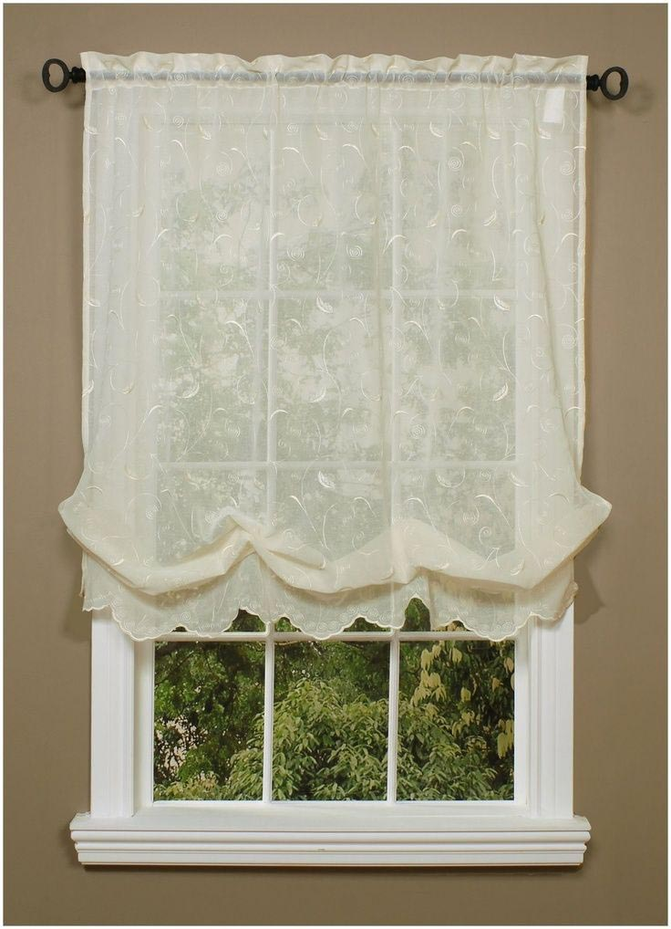 Diy balloon shade curtains window treatments design ideas for Shades and window treatments